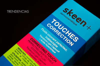 Piel luminosa y descansada con Skeen + Touches Correction, nuestra experiencia