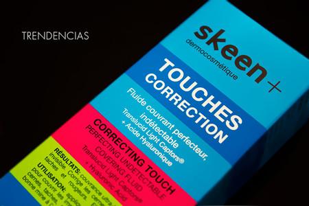 Piel luminosa y descansada con Skeen + Touches Correction, nuestra experiencia