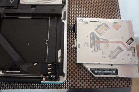 Unidad óptica del MacBook Pro de 2012
