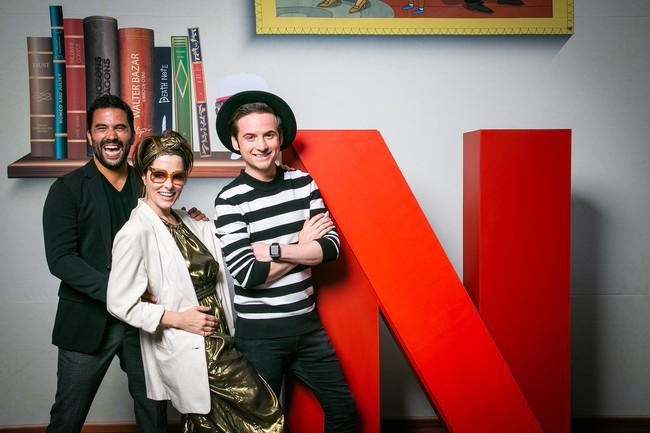"""Netflix lleva a los protagonistas de """"La Balada de Hugo Sánchez"""" y """"Perdidos en el Espacio"""" a la Conque 2018"""