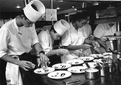 Una cámara en la cocina de los grandes chefs