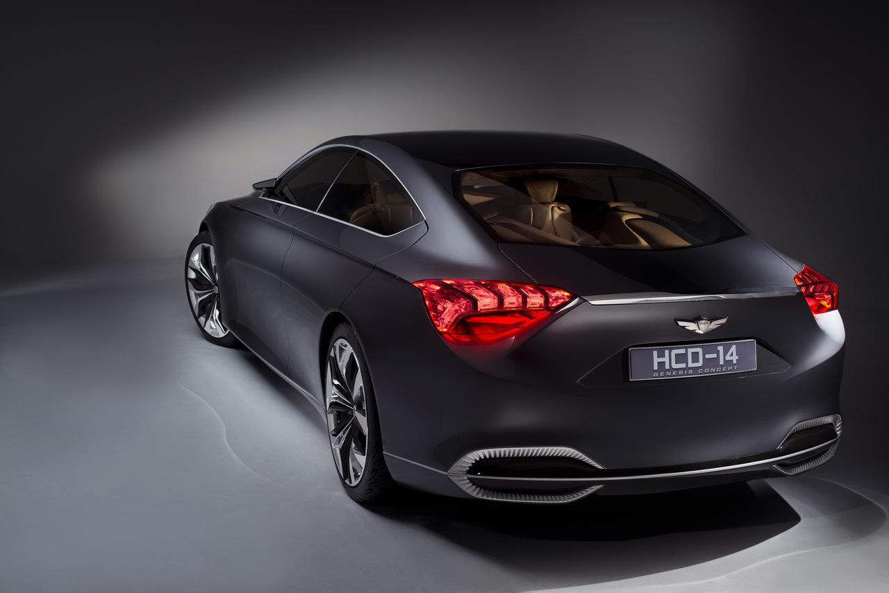 Foto de Hyundai HCD-14 Genesis Concept (3/15)