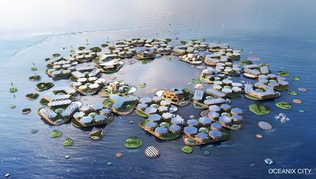 """Oceanix City, la ciudad flotante """"a prueba de desastres naturales"""" y auto sostenible que la ONU quiere hacer realidad"""