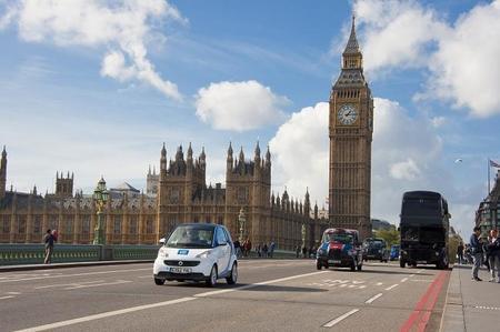 car2go comienza a dar su servicio de coche compartido en Londres