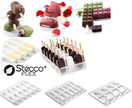 Moldes de silicona para hacer helados