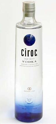 Ciroc, un vodka elaborado con uvas