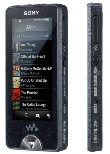 Sony Walkman X-Series, reproductor con pantalla táctil