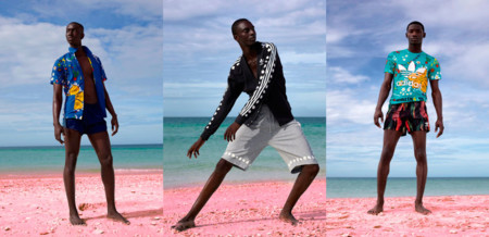 Adidas Originals Pink Beach Pharrell Hombre 1