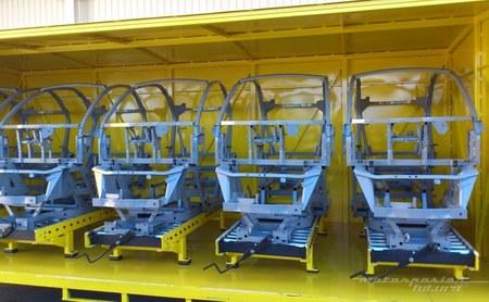 Fabrica Renault Twizy Valladolid bastidores