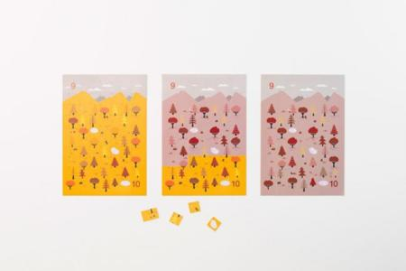 Sticker Calendar Nendo