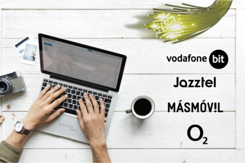 Comparativa de tarifas de fibra, fijo y móvil de Jazztel vs O2 vs MásMóvil vs Vodafone bit