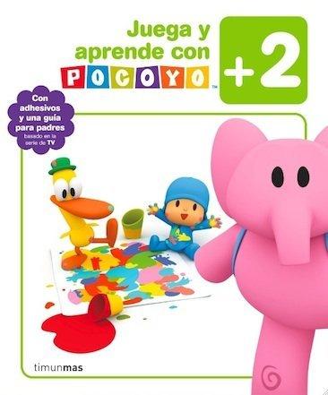 """Cuadernos de actividades """"Juega y aprende con Pocoyó"""""""
