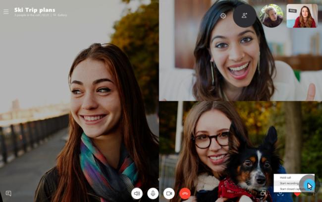 Skype llamadas