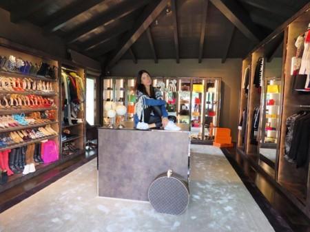 El armario que haría soñar a la propia Carrie Bradshaw es de Giorgia Gabriele, la novia de Gianluca Vacchi