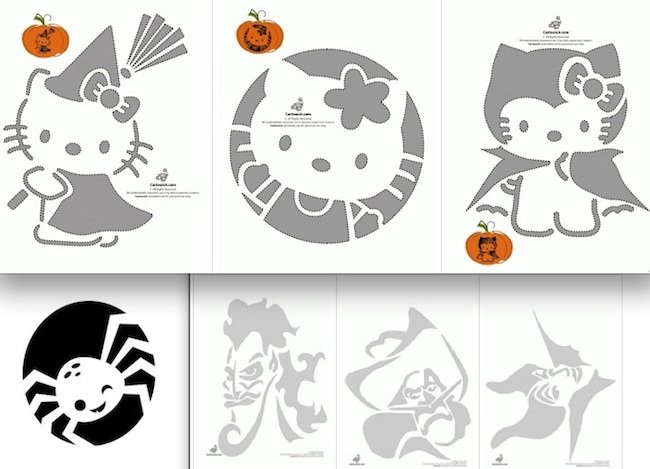Decoraci n para calabazas de halloween - Decoracion halloween para imprimir ...