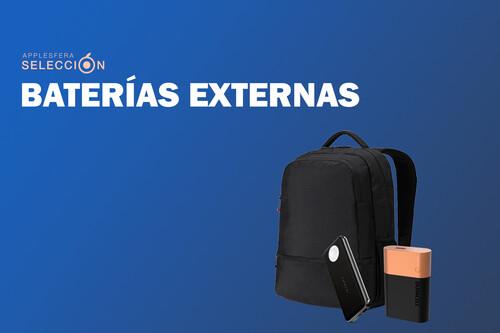 No te quedes sin batería en tus dispositivos: siete Power Banks para llevar en la mochila y recargar tu iPhone y iPad