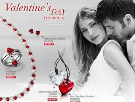 San Valentín: celébralo con Swarovski