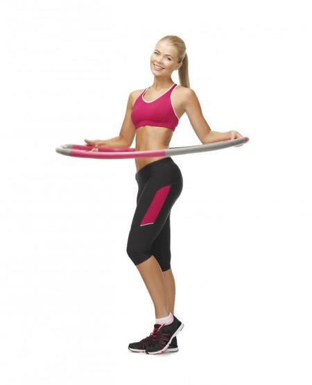 Trabaja tu abdomen con el hula-hoop