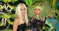 Celebrities loc@s por Versace para H&M