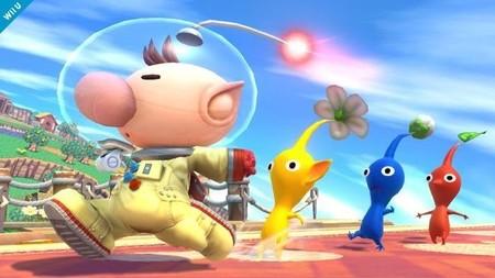 Olimar y sus pikmins estarán en el nuevo 'Super Smash Bros.'