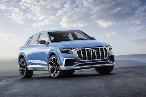 Así de imponentes son los 450 CV y 1.000 km de autonomía del Audi Q8 Concept