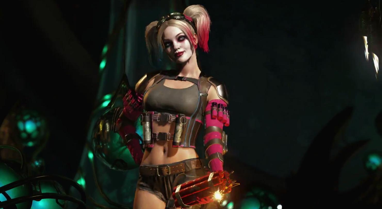 Son los malos y es lo que hacen: Harley Quinn y Deadshot se apuntan a Injustice 2 [GC 2016]