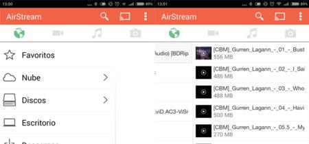 AirStream nos permite ver vídeo del ordenador en nuestro Android y también en Chromecast