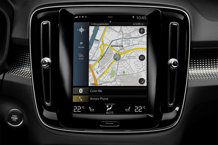 Volvo XC40, prueba contacto