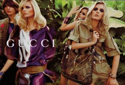 Gucci, campaña primavera-verano 2009 por Inez & Vinoodh