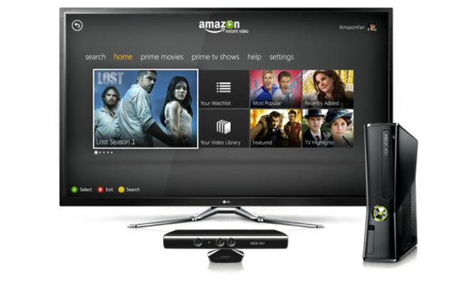 Xbox 360 ya cuenta con Amazon Instant Video, aunque a los salones españoles aún tardará en llegar