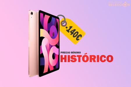 Ahorra 140 euros con esta oferta del iPad Air (2020) Wi-Fi + Cellular de 64 GB en Amazon, a su precio mínimo histórico