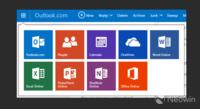 Microsoft prueba un nuevo lanzador de aplicaciones web para Outlook.com