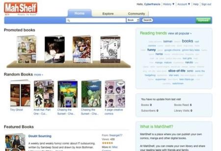 Mah Shelf, red social de libros online de temática manga y comics
