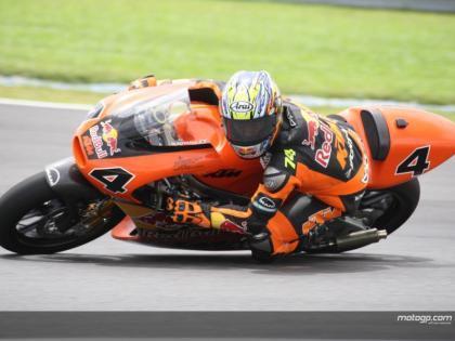 Las KTM sorprenden a Jorge Lorenzo en Malasia