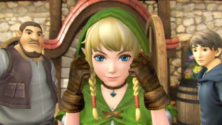 Hyrule Warriors Legends Linkle