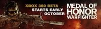 Habemus fecha para la beta online del 'Medal of Honor: Warfighter' en Xbox 360. ¿Cuándo? Mañana mismo