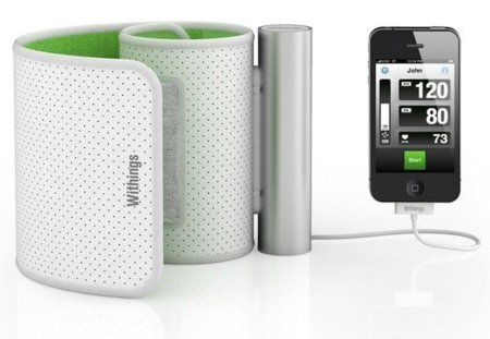 Tensiometro para el iPhone por Withings