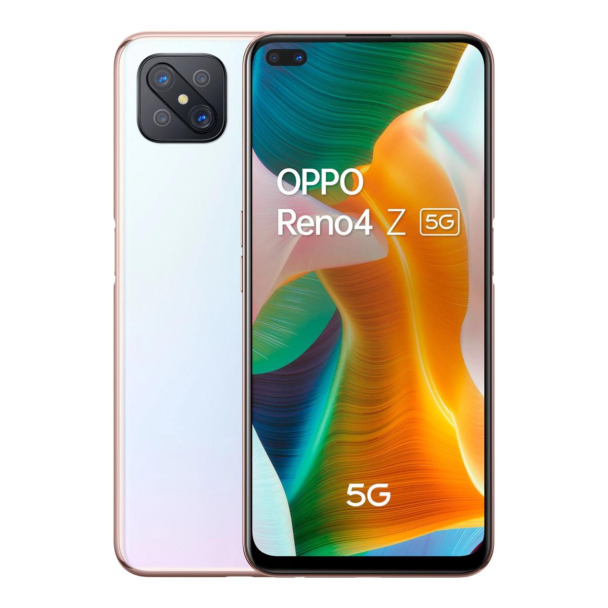 OPPO Reno4 Z 8 GB +128 GB Blanco móvil libre