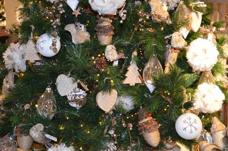 Decoración de Navidad rústica