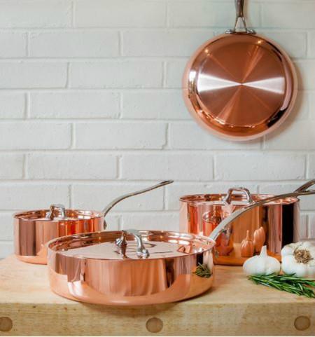 El glamour llega a la cocina con estas 12 espectaculares baterías de ...
