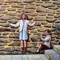 ¿Ilusión o realidad? Recorrido por los trampantojos de Romangordo, Cáceres
