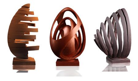 Huevos de Pascua de chocolate de Oriol Balaguer