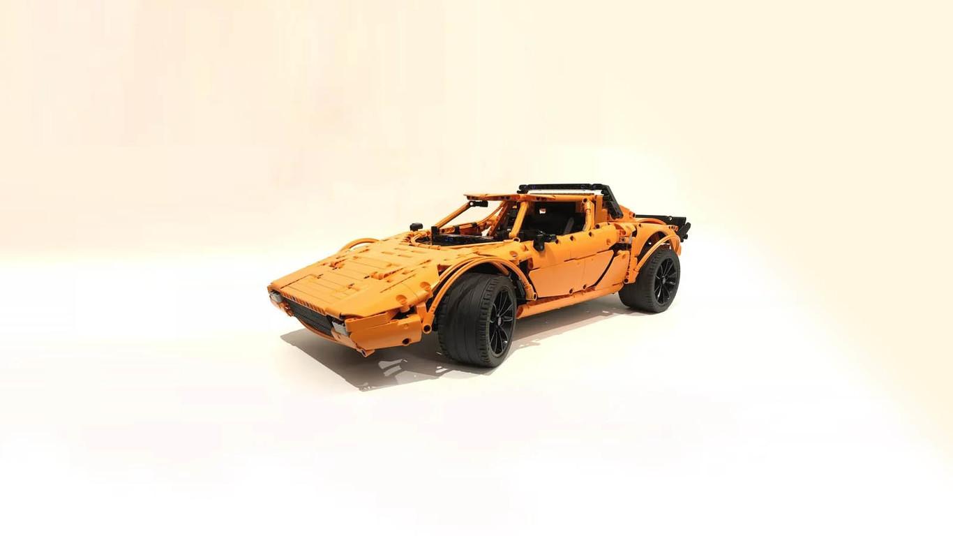 low priced 88d78 def14 Esta guía te permite convertir tu Porsche 911 GT3 RS de Lego en un Lancia  Stratos HF Stradale