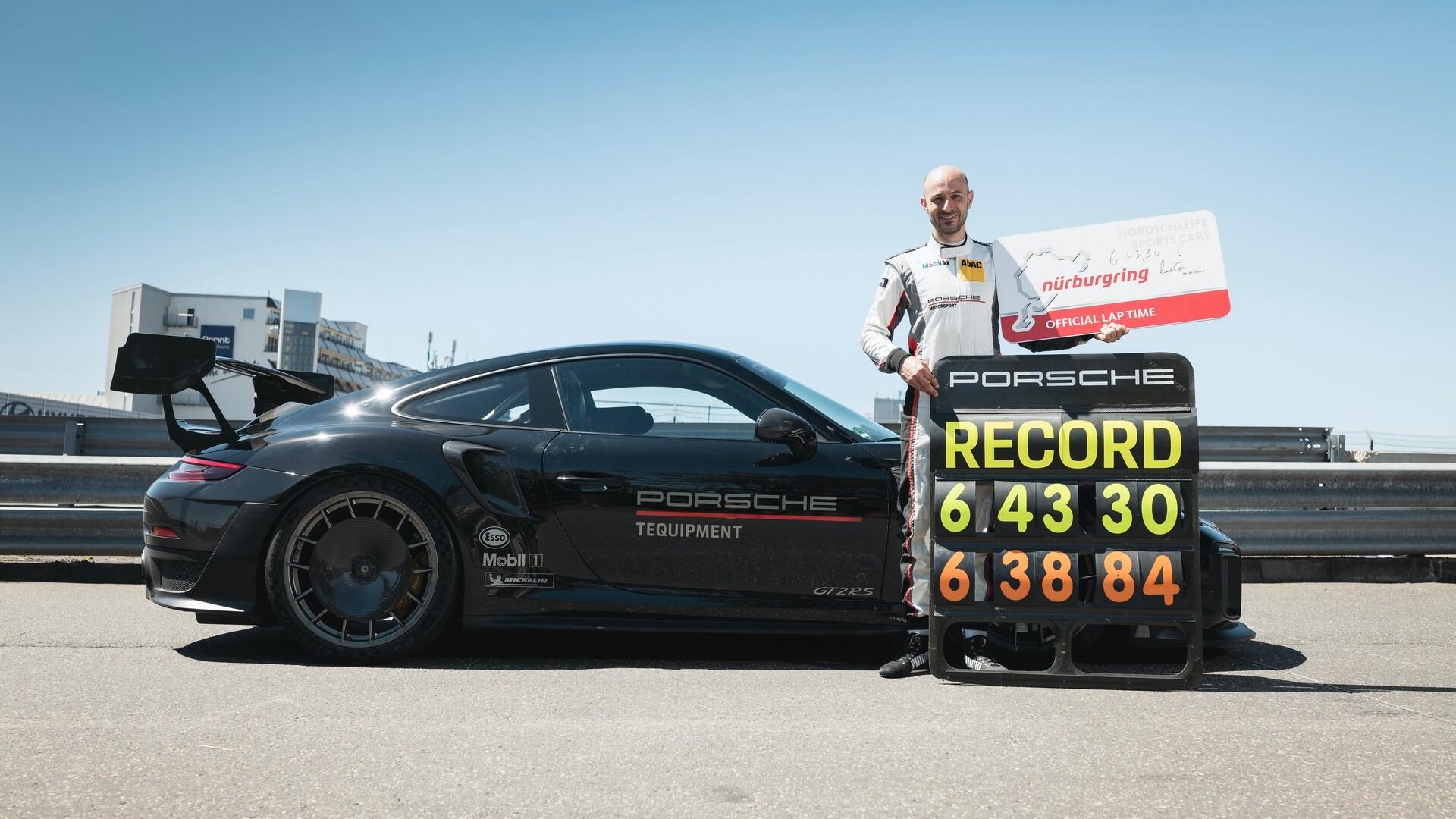 Foto de Porsche rompe récord de velocidad (2/8)
