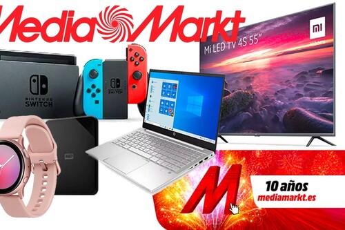 Ahorra en smart TVs y smartphones Xiaomi, en portátiles HP, en la Nintendo Switch o en aspiradores Dyson en el Aniversario MediaMarkt