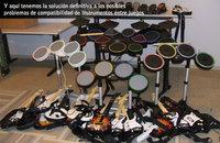 ¿Qué instrumentos son compatibles con qué juegos?