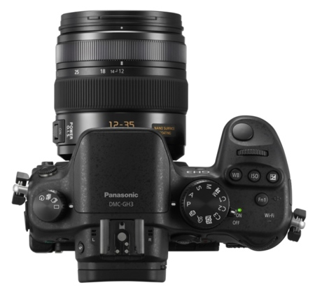 Panasonic GH3 controles