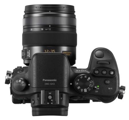 Panasonic GH3 controles