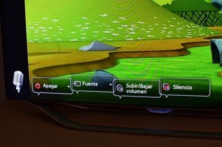 smart tv control por voz