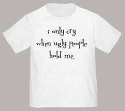 Divertida camiseta para tu bebé